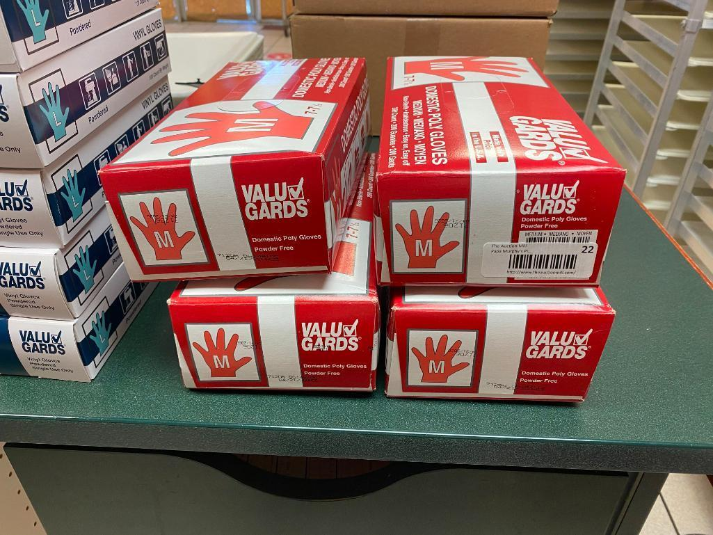 4-boxes-of-200-800-vinyl-gloves-powder-free-size-m-by-value-gard