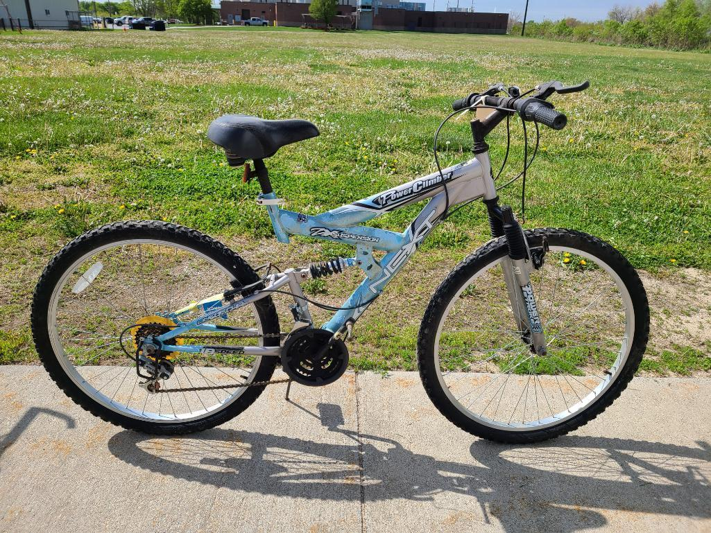 next-power-climber-bicycle-zx-suspension-power-stroke-18-speed-no-8567-95f