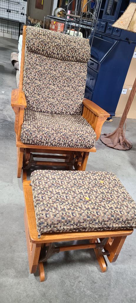 gliding-rocker-w-matching-ottoman-foot-stool-wood-frame-w-cushions-cushions-match-lot-1-sofa-sleeper