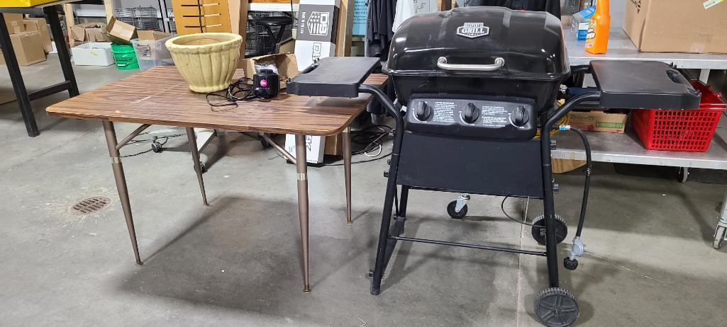 gas-grill-by-expert-grill-kitchen-table-planter-mattress-pump