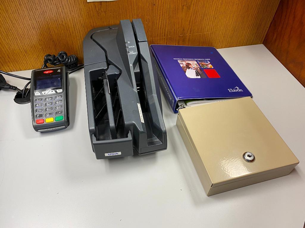 epson-model-m236a-check-reader-ingenico-ict250-card-reader-cash-drawer-no-key