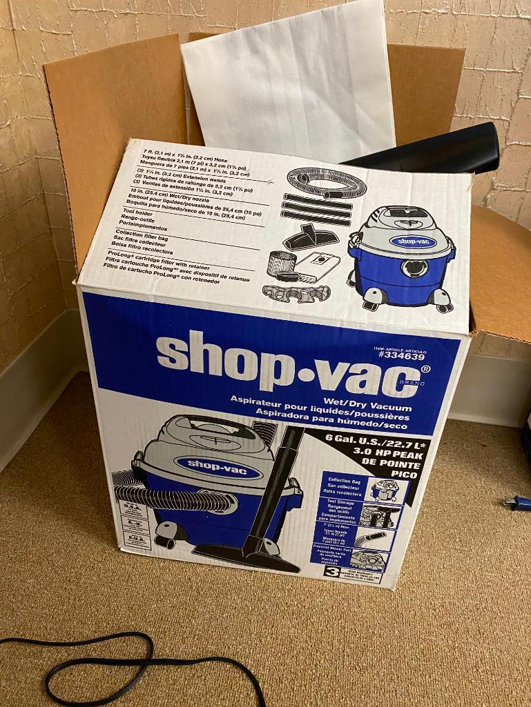 new-shop-vac-6-gallon-3hp-wet-dry-vacuum-w-orig-box-filter