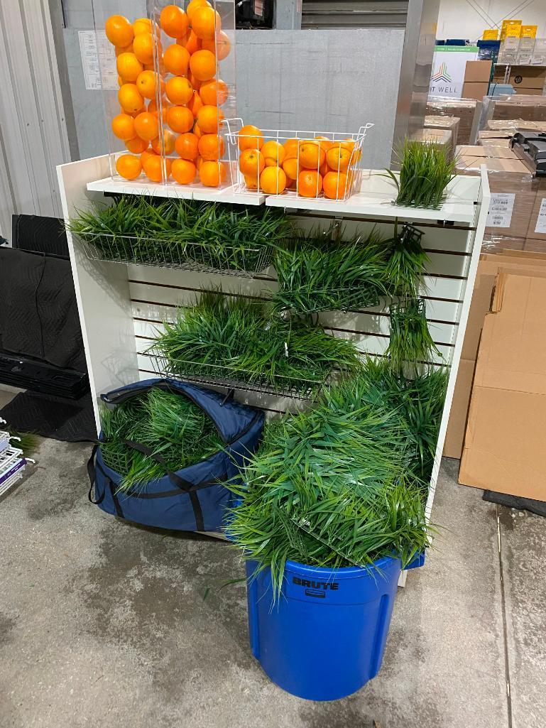 autograph-foliage-artificial-fruit-and-grass-acrylic-display-boxes-for-fruit