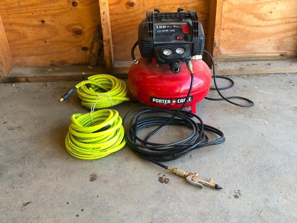 porter-cable-pancake-air-compressor-w-3-hoses-150-psi-6-gallon-110v