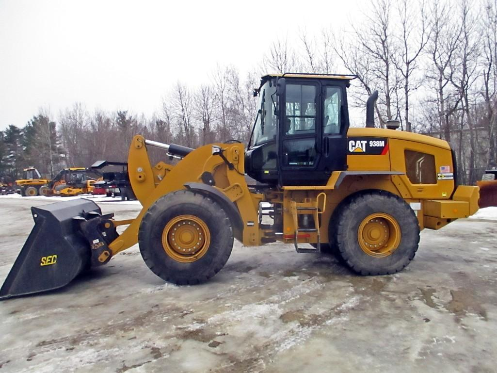 2015 CAT 938M RUBBER TIRED LOADER SN: J3R01083 Powered