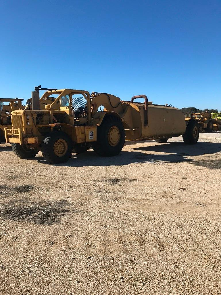 CAT 630B WATER WAGON Powered By Cat Diesel Engine