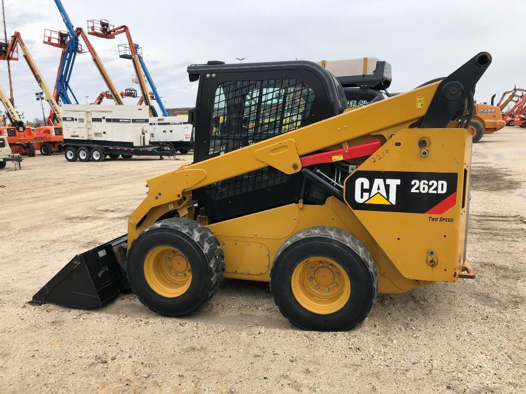 2015 CAT 262D SKID STEER SN:DTB02258 Powered By Cat