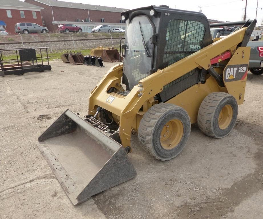 2015 CAT 262D SKID STEER SN:DTB02276 Powered By Cat