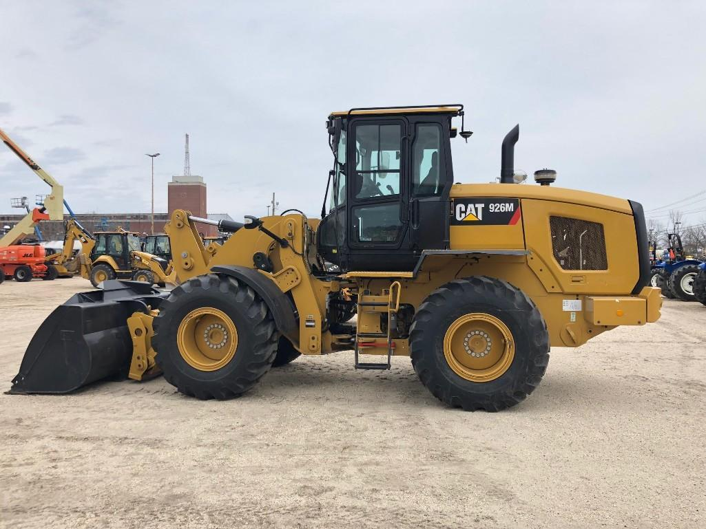 2016 CAT 926M RUBBER TIRED LOADER SN:LTE01157 Powered