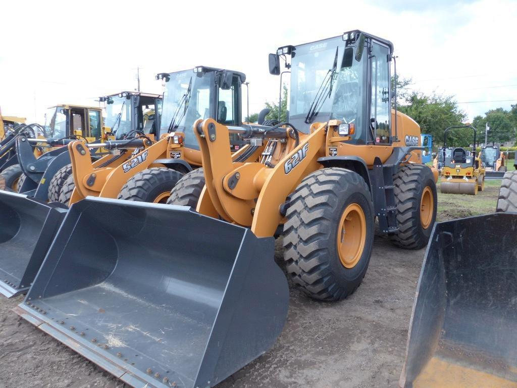 2017 CASE 621F RUBBER TIRED LOADER Powered By Case