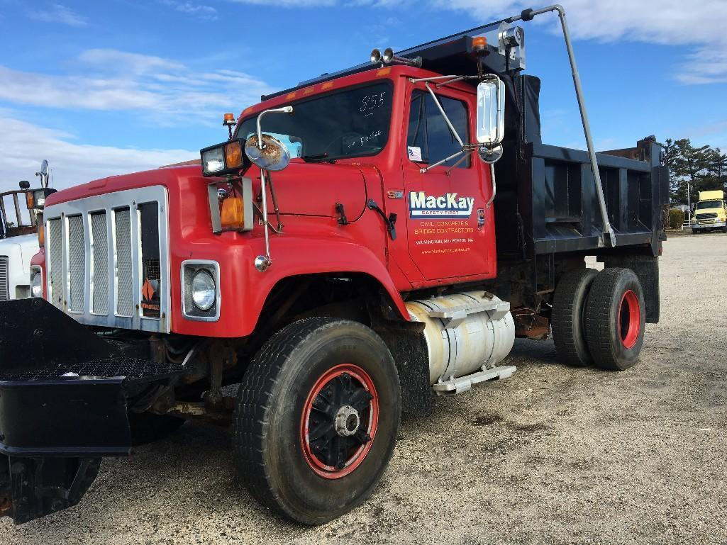 1988 INTERNATIONAL S2554 DUMP TRUCK VN:541566 Powered