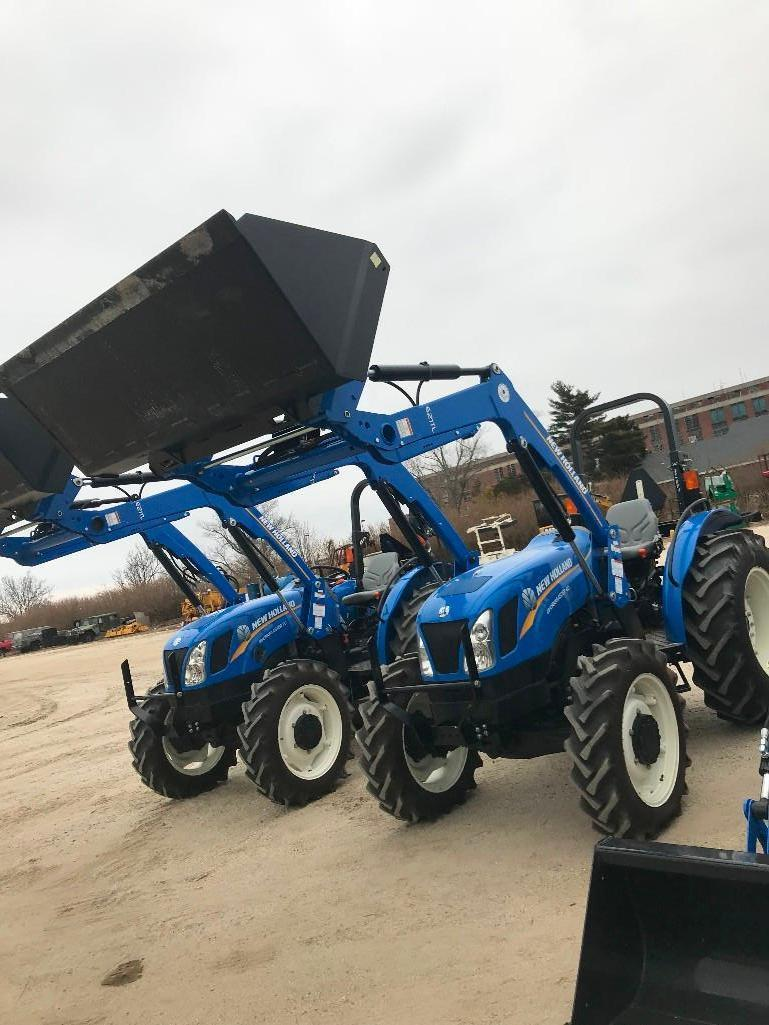 2017 NEW HOLLAND WORKMASTER 60 TRACTOR LOADER 4x4