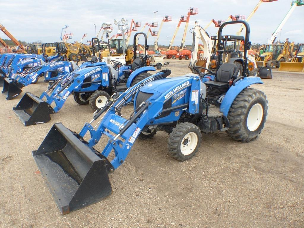 DEMO NEW HOLLAND BOOMER 33 TRACTOR LOADER 4x4 Powered