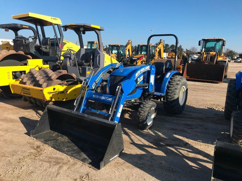 2016 NEW HOLLAND WORKMASTER 33 TRACTOR LOADER 4x4