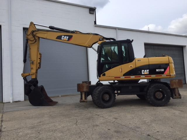 CAT M315D RUBBER TIRED EXCAVATOR SN:HW5M00350powered