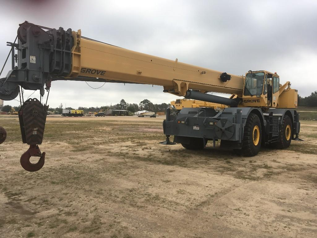 2005 GROVE RT875E ROUGH TERRAIN CRANE SN: 224147 4x4