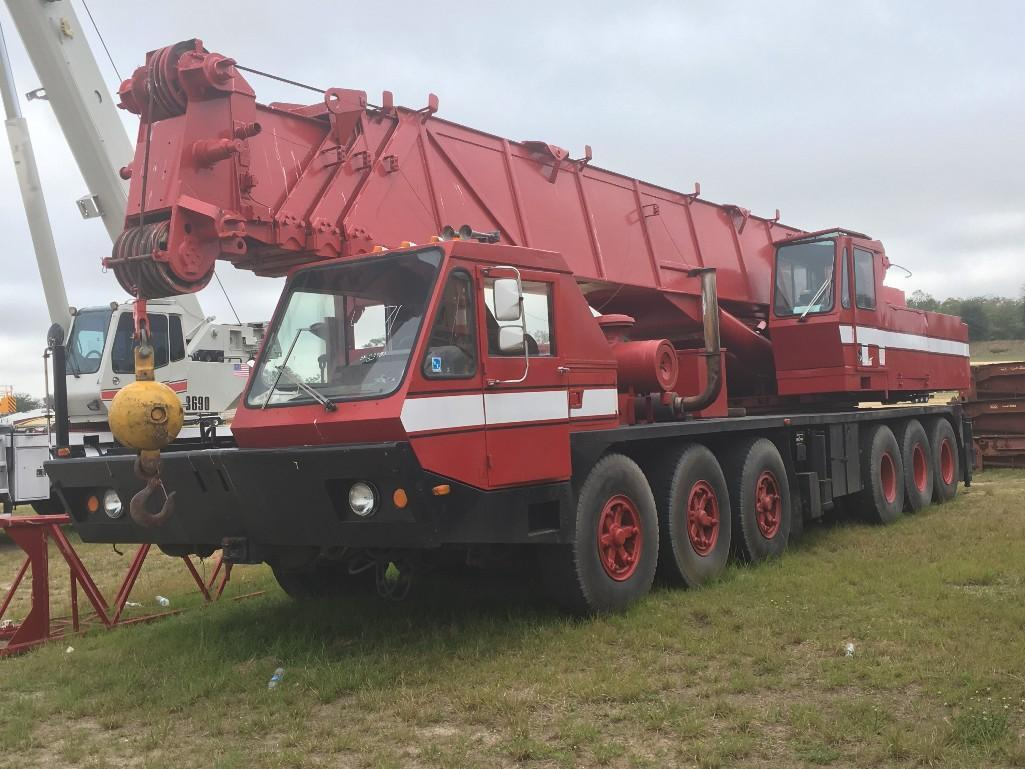 GROVE TM-875 TRUCK CRANE SN: 033780 8x4 Powered By