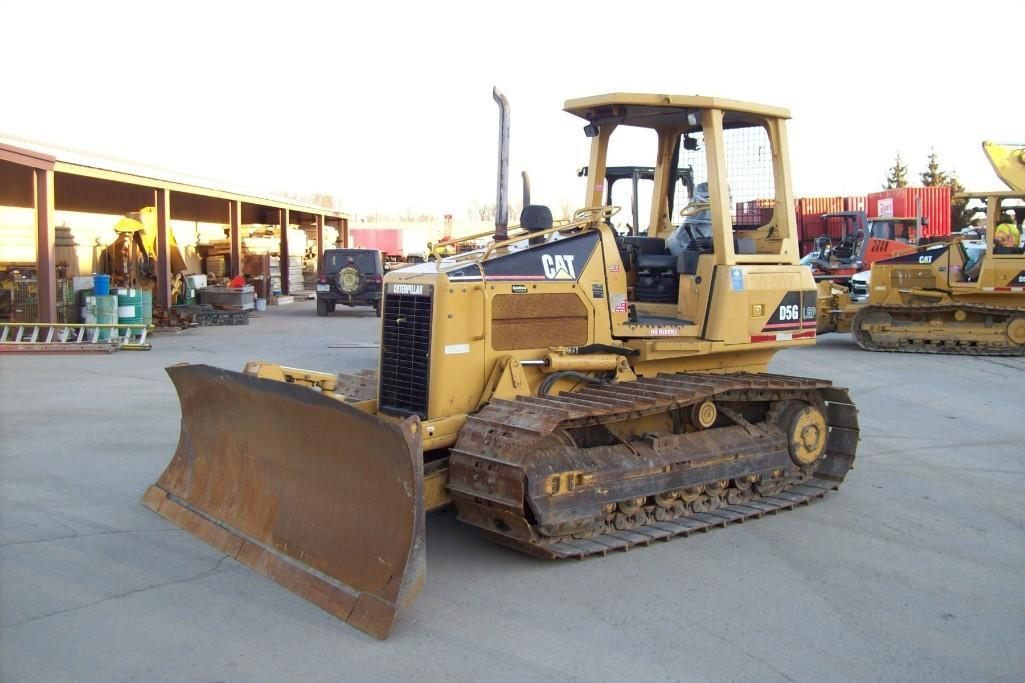 CAT D5GLGP CRAWLER TRACTOR SN:RKG02614 Powered By Cat