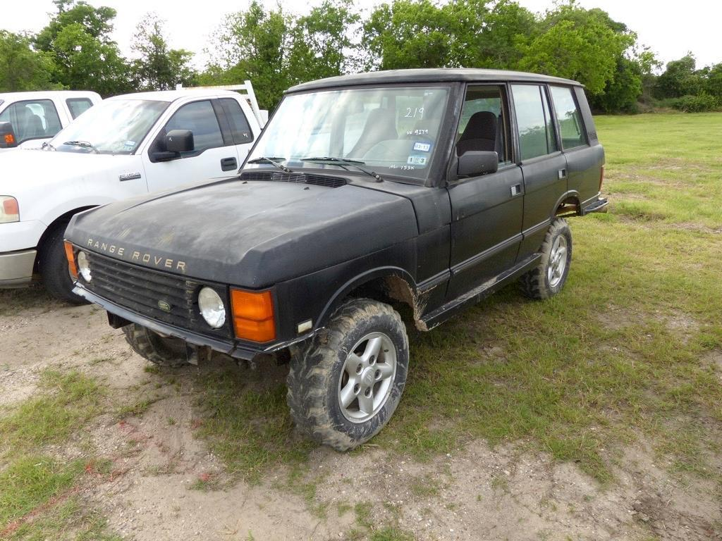 1995 LAND ROVER DISCOVERY SPORT UTILITY VEHICLE