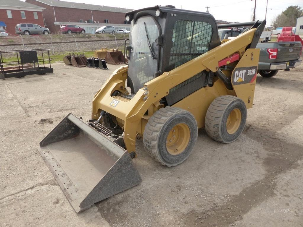 2015 CAT 262D SKID STEER SN:DTB02324 Powered By Cat
