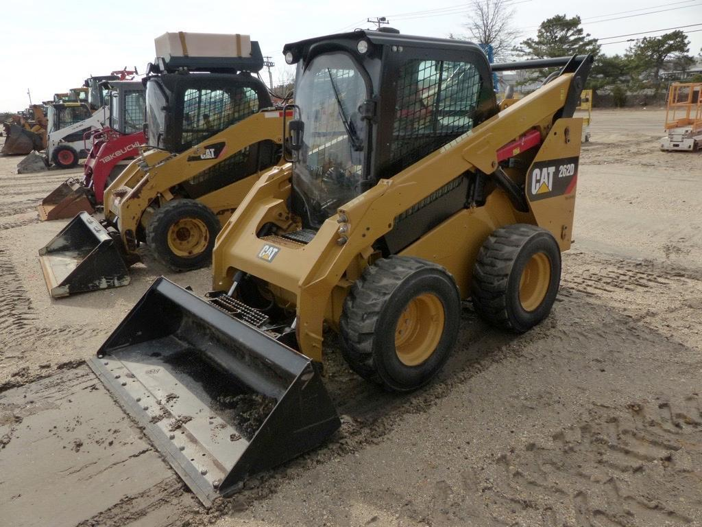 2015 CAT 262D SKID STEER SN:DTB02337 Powered By Cat