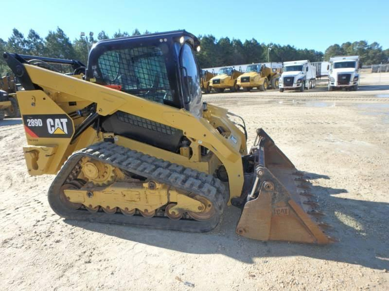2015 CAT 289D RUBBER TRACKED SKID STEER SN:TAW03467