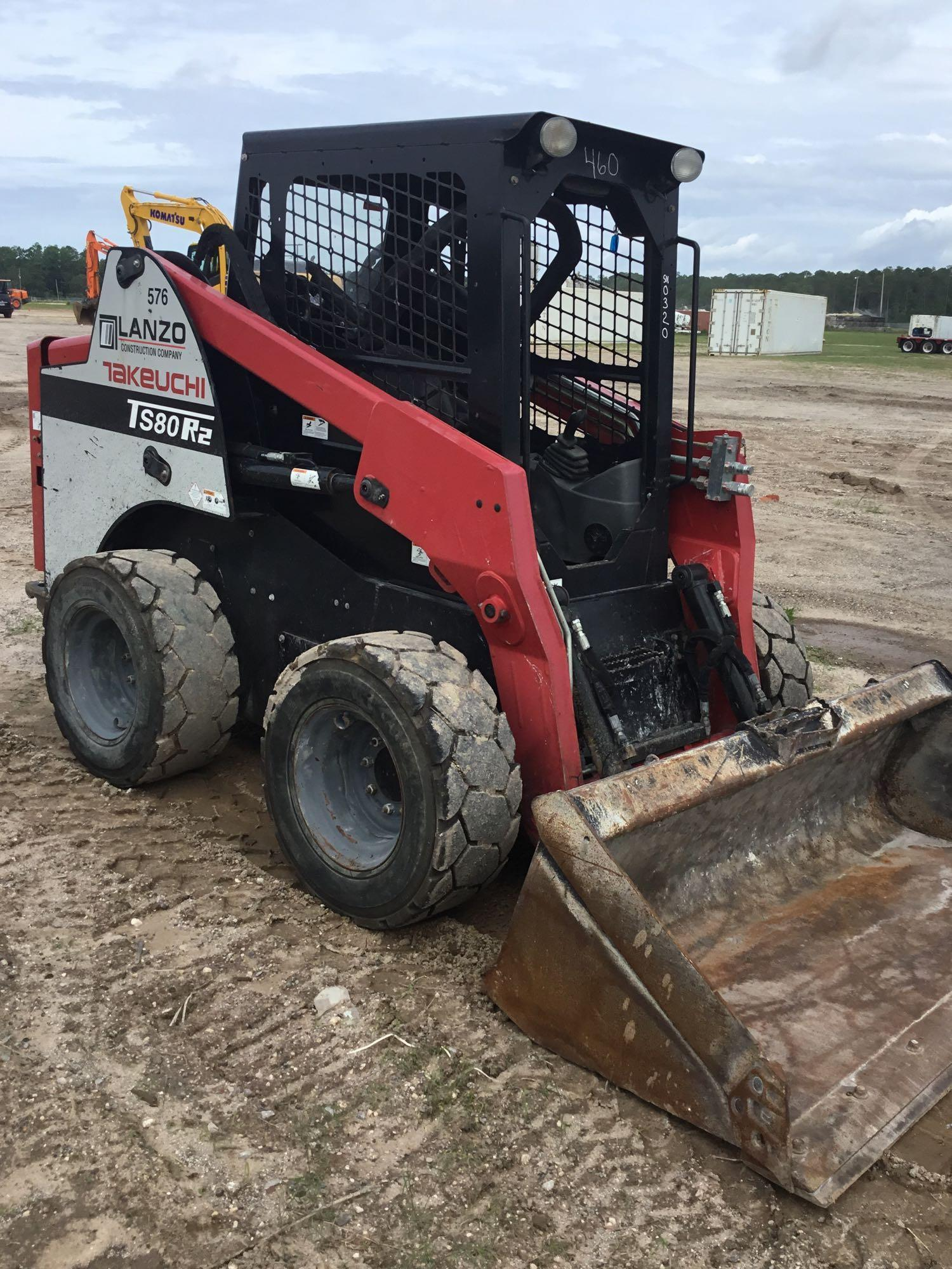 2014 TAKEUCHI TS80R-2 SKID STEER SN:200320 Powered By
