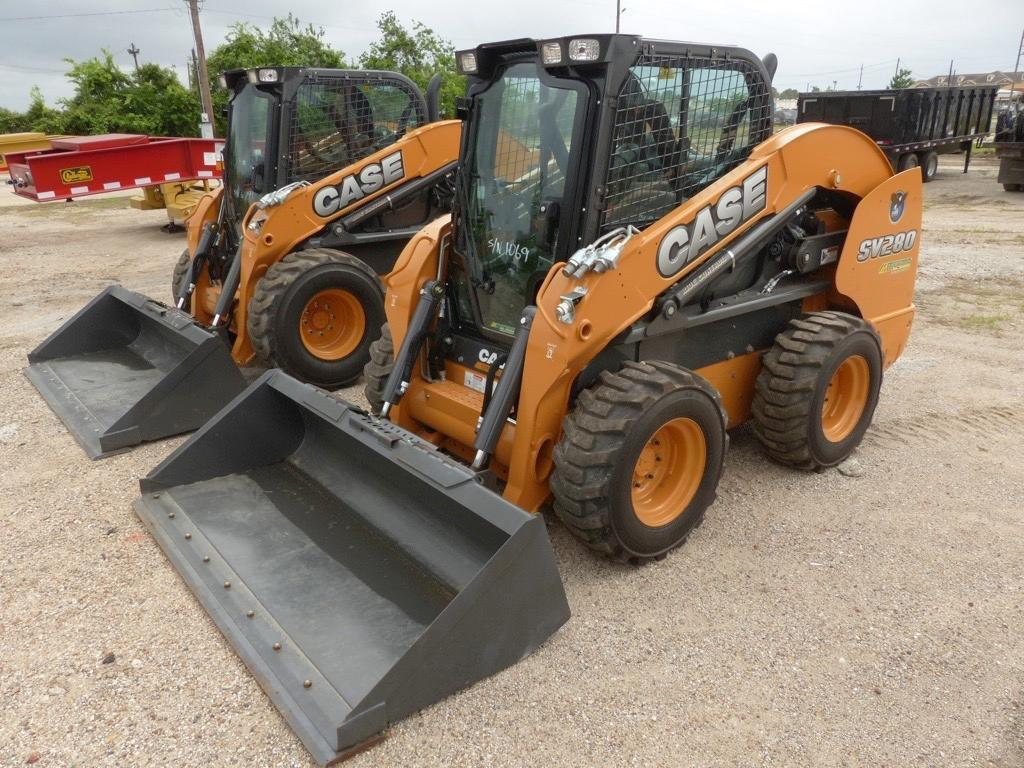 2017 CASE SV280 SKID STEER SN:NGM421289 Powered By