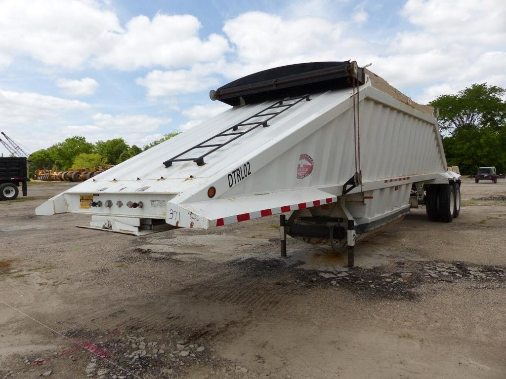 2014 CTS BDT-40 BELLY DUMP TRAILER VN:000710 Equipped