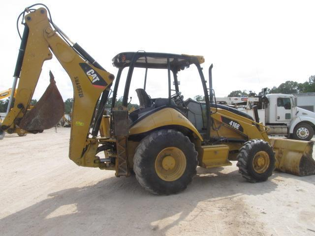 2011 CAT 416E TRACTOR LOADER BACKHOE SN:LMS01173 4x4