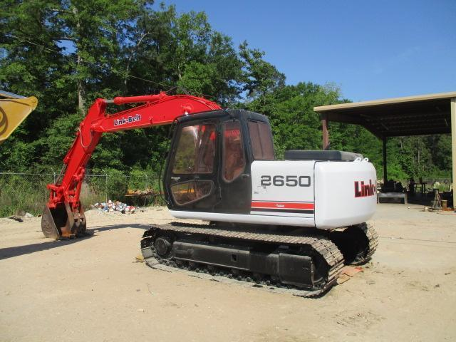 LINKBELT 2650 HYDRAULIC EXCAVATOR SN:MA0596 Powered By