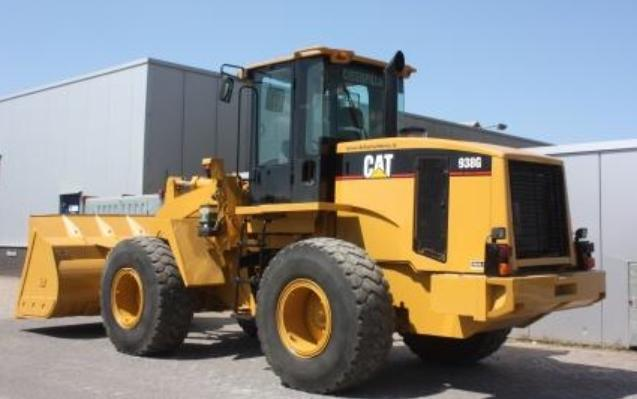 CAT 938G RUBBER TIRED LOADER SN:CRD00632 Powered By