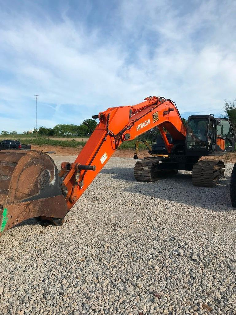 2012 HITACHI ZX350LC-5N HYDRAULIC EXCAVATOR Powered By