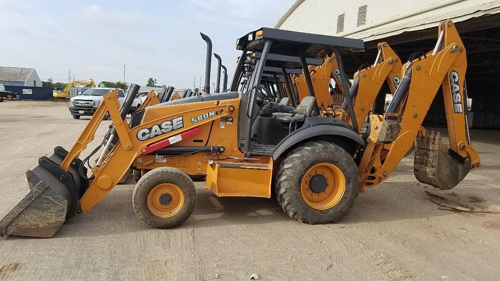 2016 CASE 580N TRACTOR LOADER BACKHOE SN:C716166