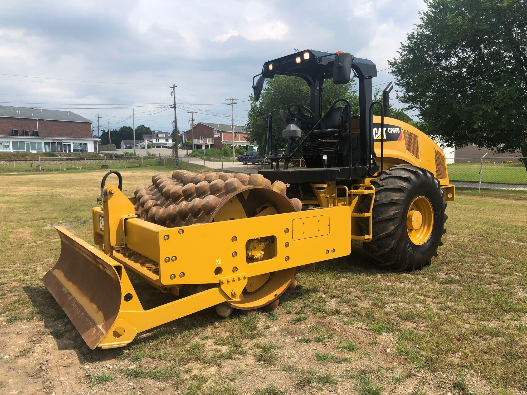 2013 CAT CP56B VIBRATORY ROLLER SN:LHC00228 Powered By