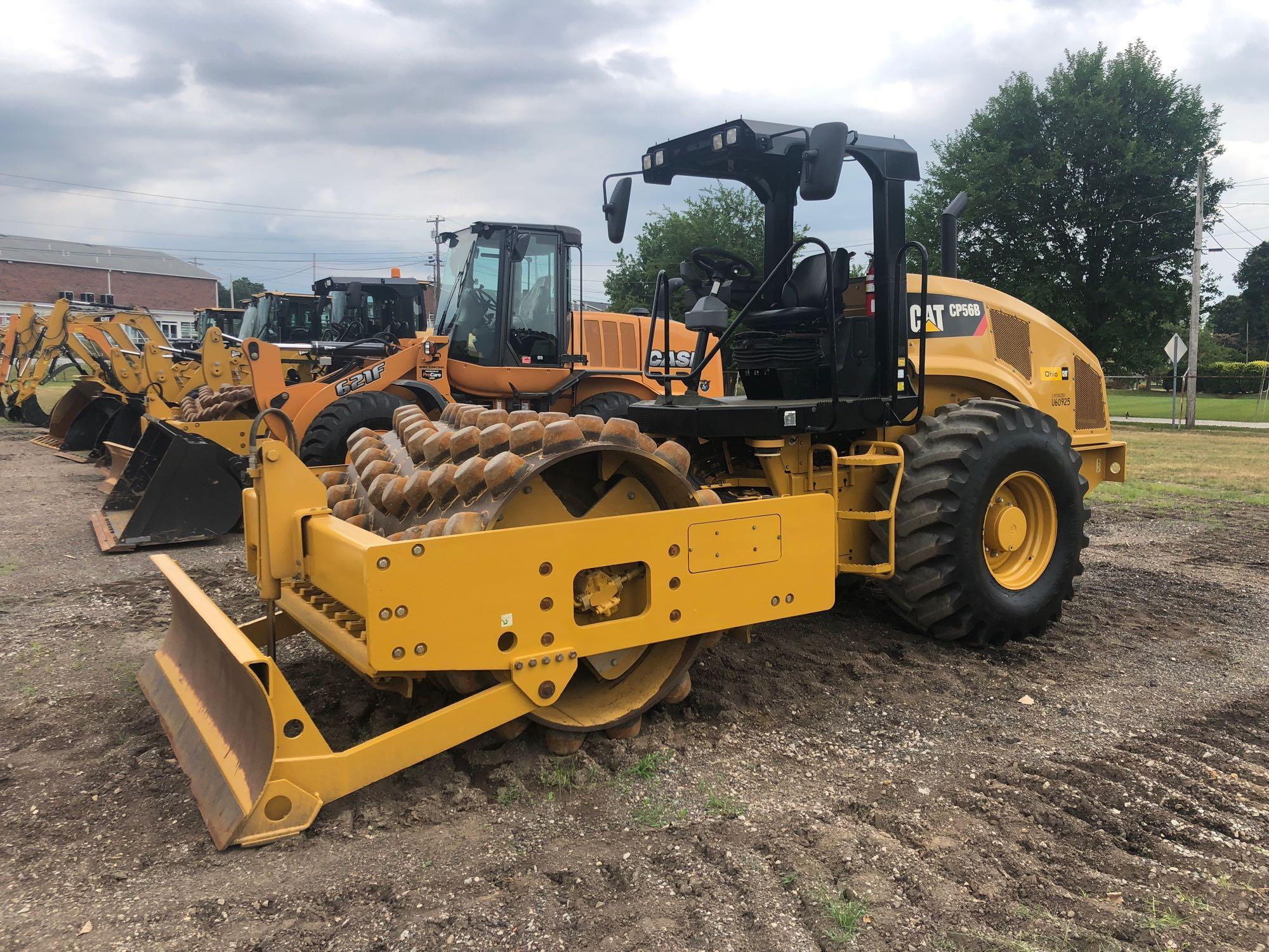 2013 CAT CP56B VIBRATORY ROLLER SN:LHC00231 Powered By