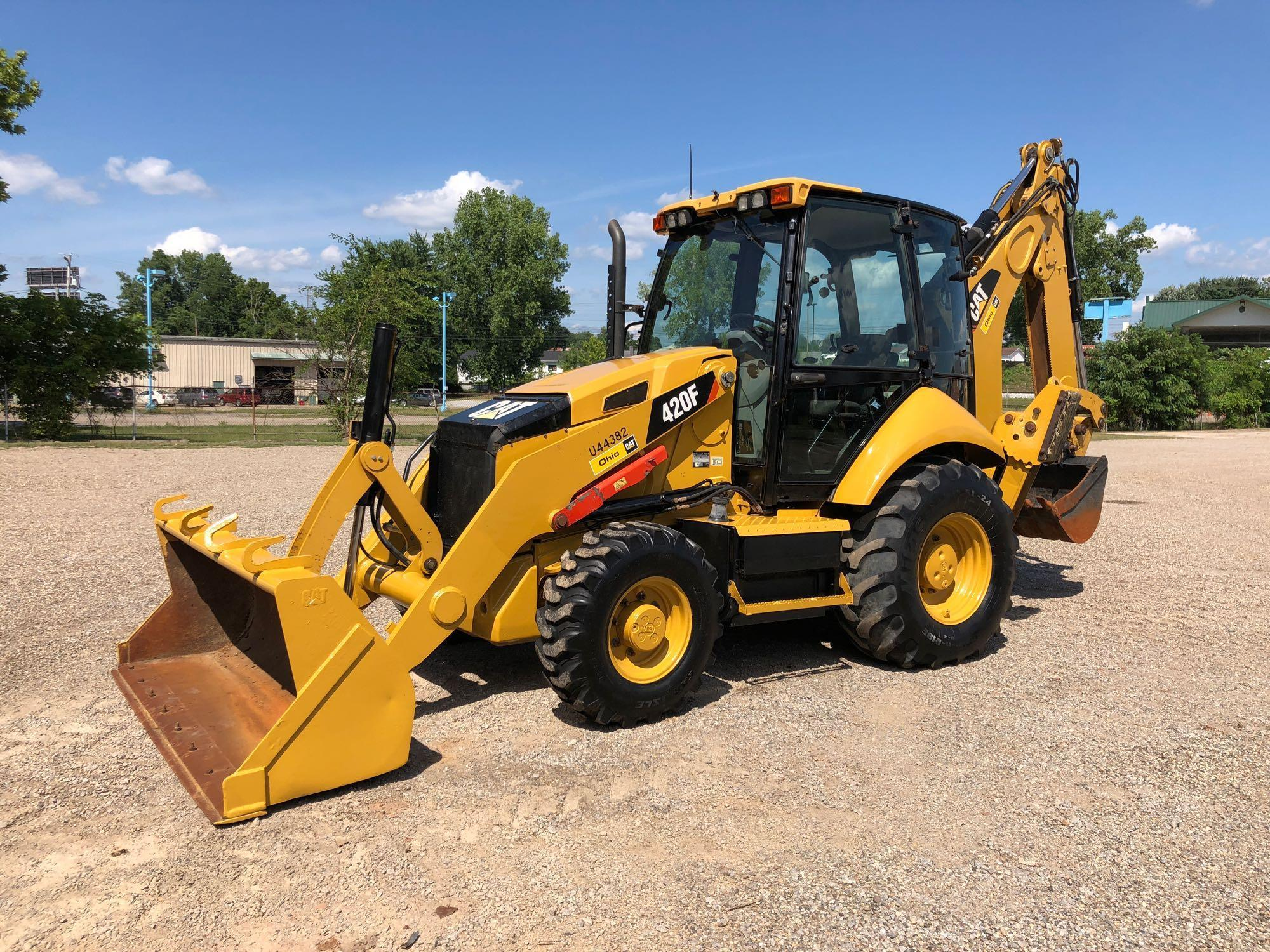 2012 CAT 420F TRACTOR LOADER BACKHOE SN:SKR00719 4x4