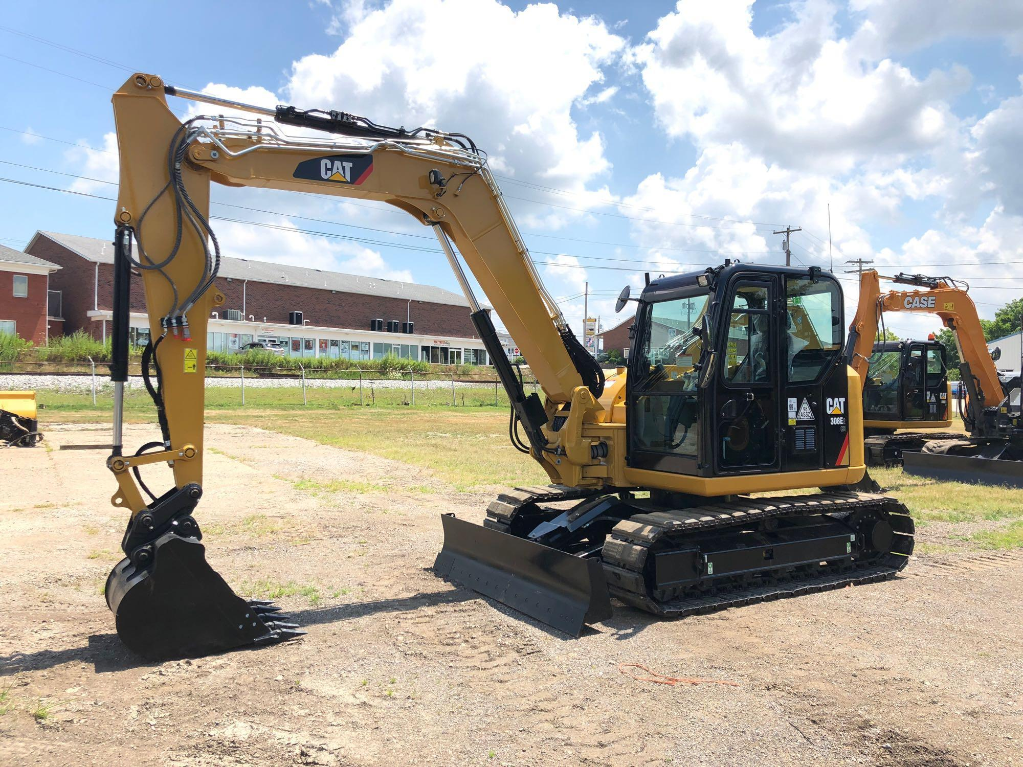 UNUSED CAT 308E2CR HYDRAULIC EXCAVATOR Powered By Cat