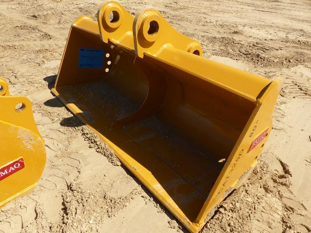 NEW TERAN 80IN. CLEAN UP BUCKET EXCAVATOR BUCKET CAT
