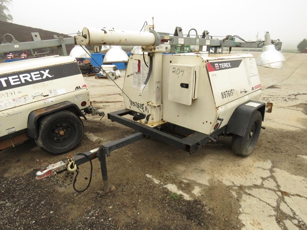 2011 TEREX AL5020 LIGHT PLANT SN:AL512301 Powered By