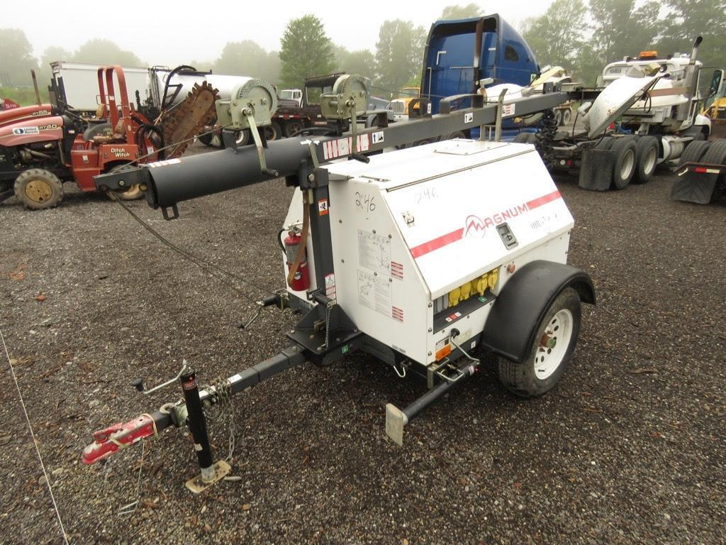 2012 MAGNUM MLT4150 LIGHT PLANT SN:1213677 Powered By