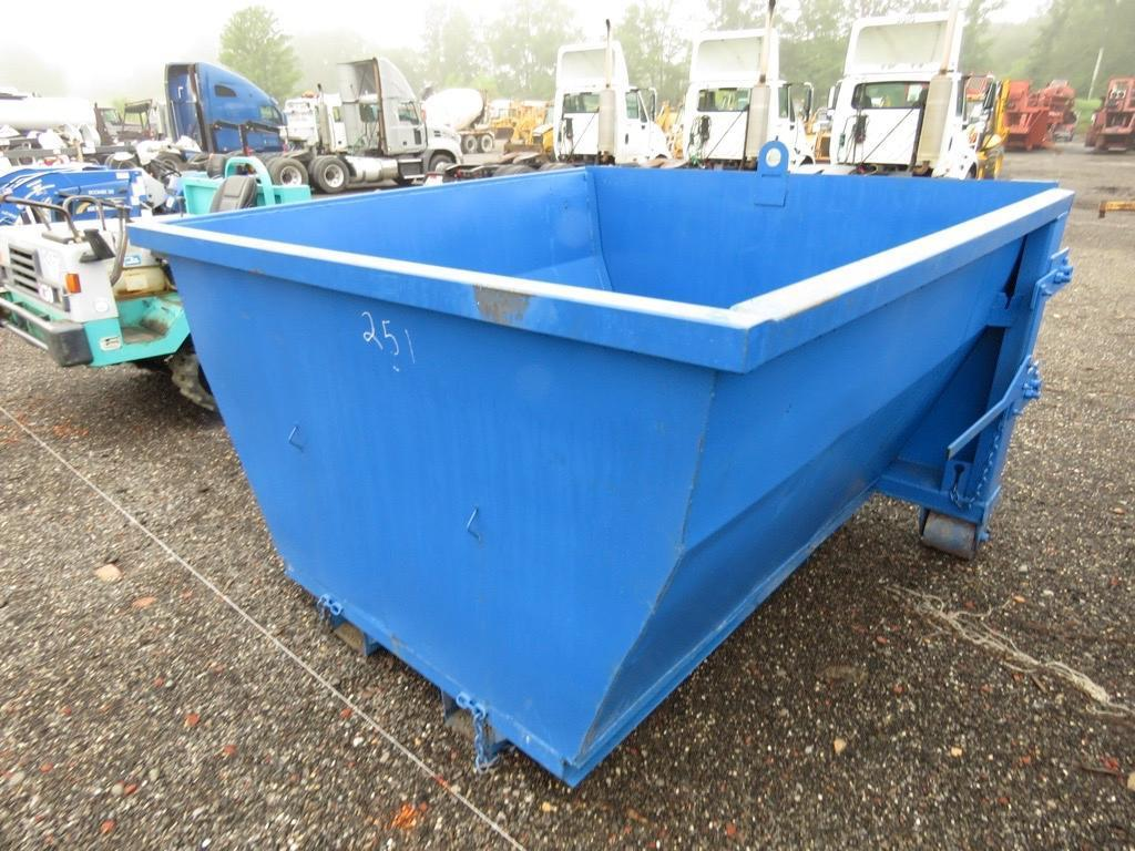 4 YARD SCRAP HOPPER