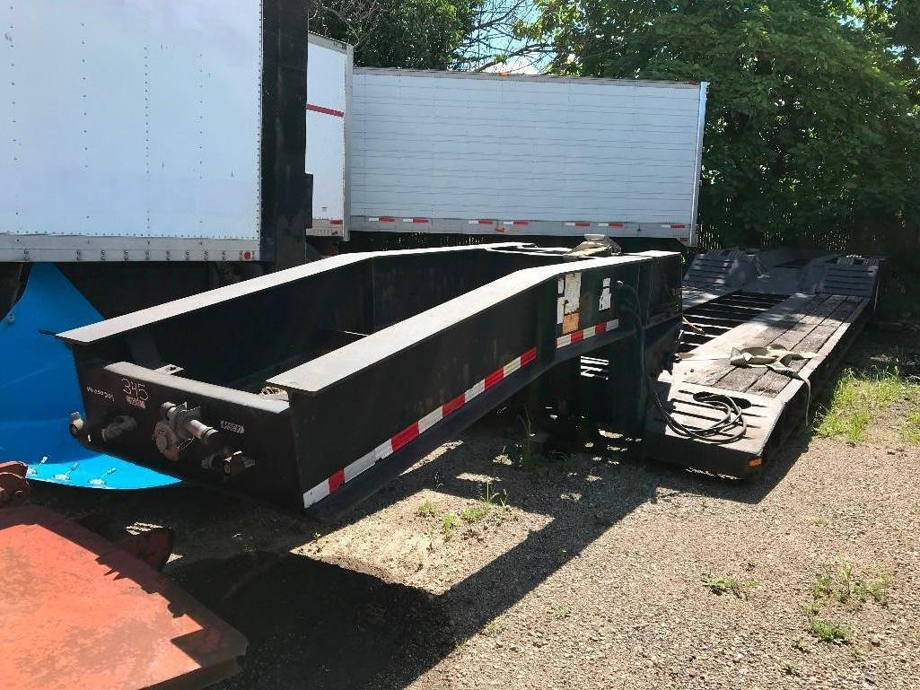 2010 WITZCO 50 TON DETACHABLE GOOSENECK TRAILER