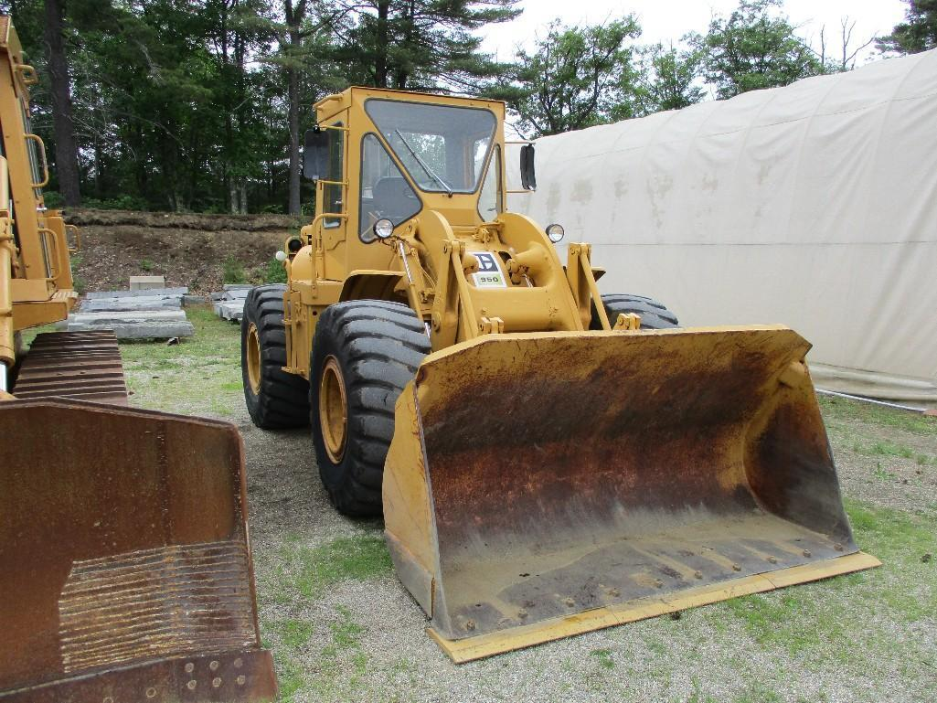 CAT 950A RUBBER TIRED LOADER SN:81J6550 Powered By Cat