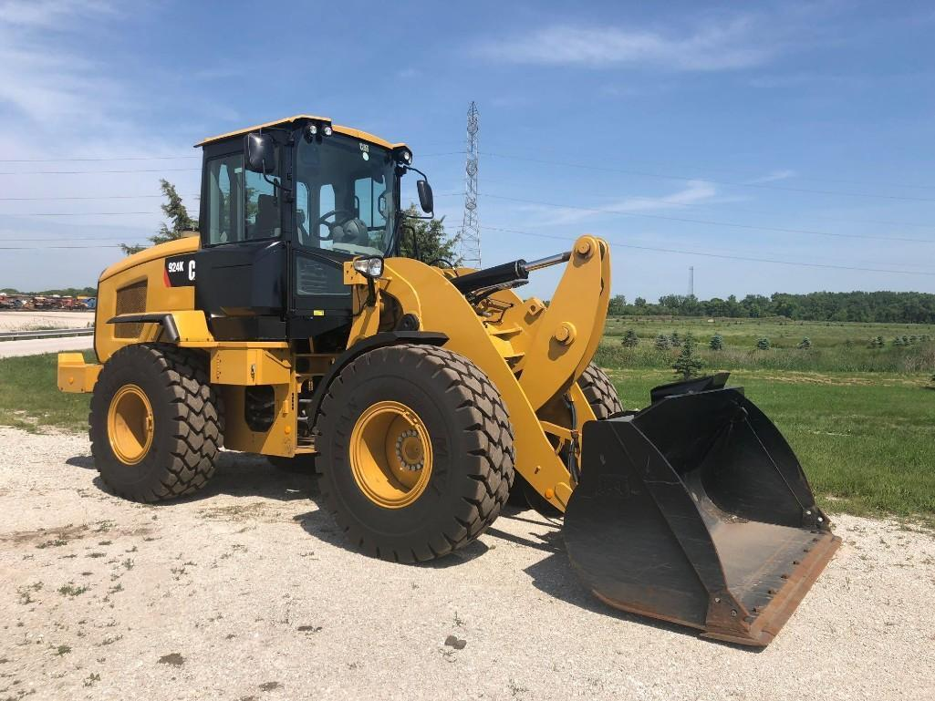 2015 CAT 924K RUBBER TIRED LOADER SN:PWR03858 Powered