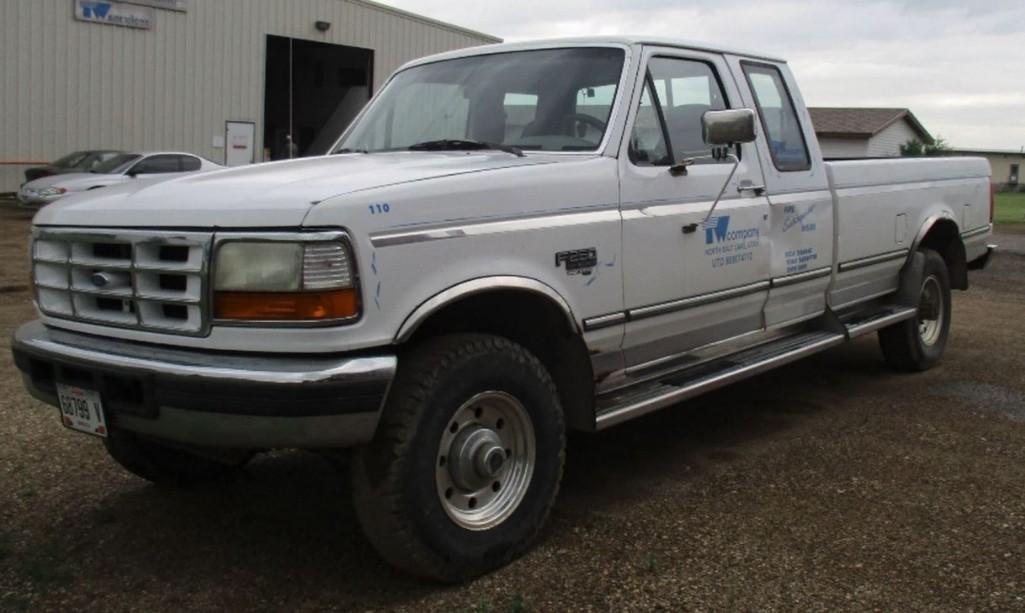 1995 FORD F250 PICKUP TRUCK VN:1FTHX26F6SKB49798 4x4