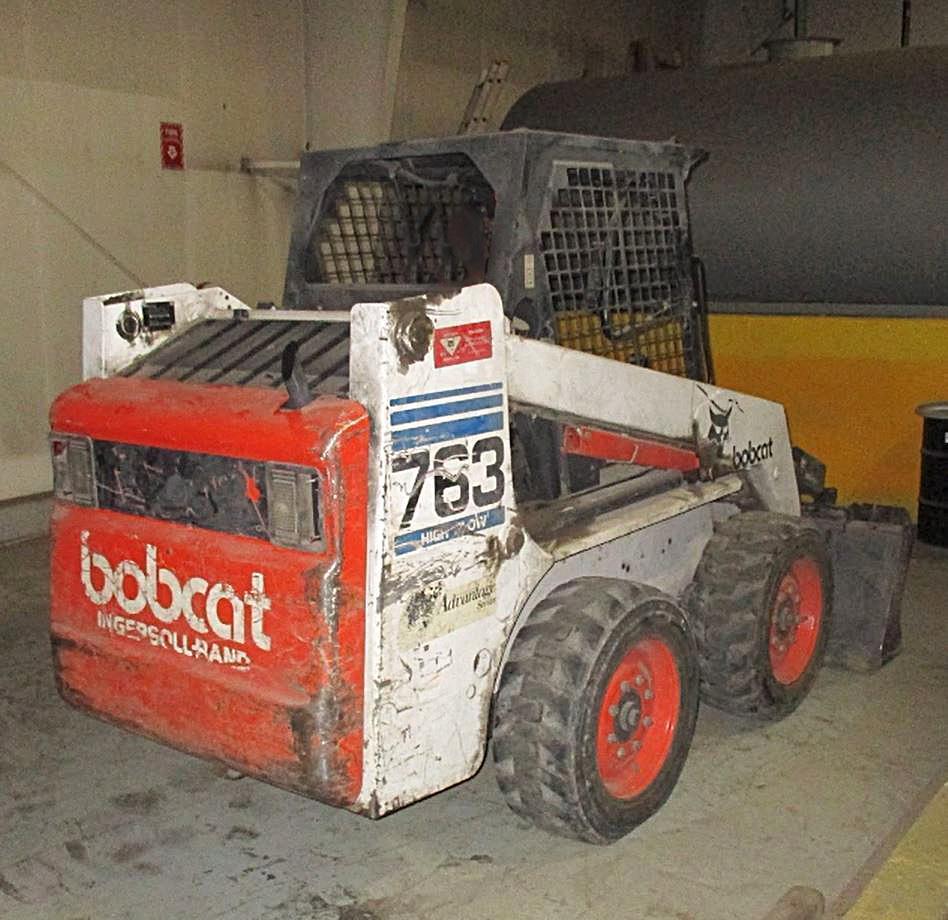BOBCAT 763 SKID STEER Powered By Diesel Engine