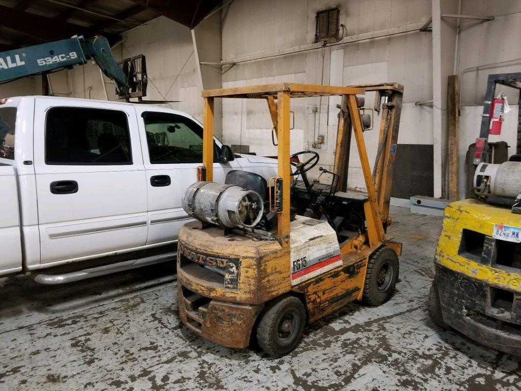 KOMATSU FORKLIFT Powered By LP Engine Equipped With