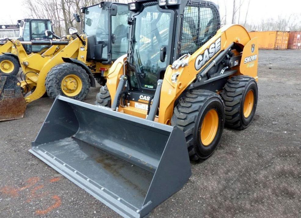 2017 CASE SV280 SKID STEER CGM421109 Powered By Case