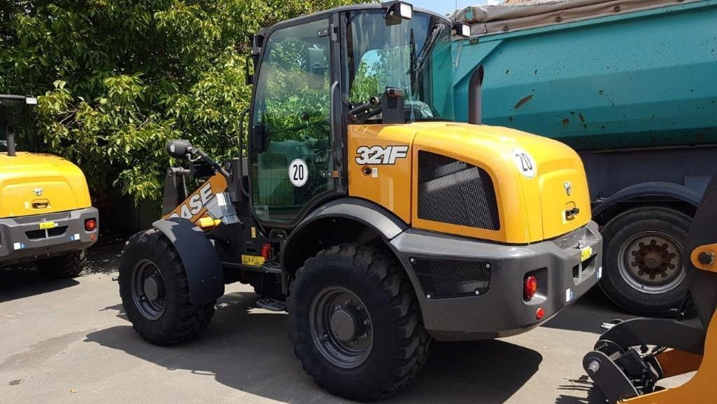 UNUSED CASE 321F RUBBER TIRED LOADER Powered By Case